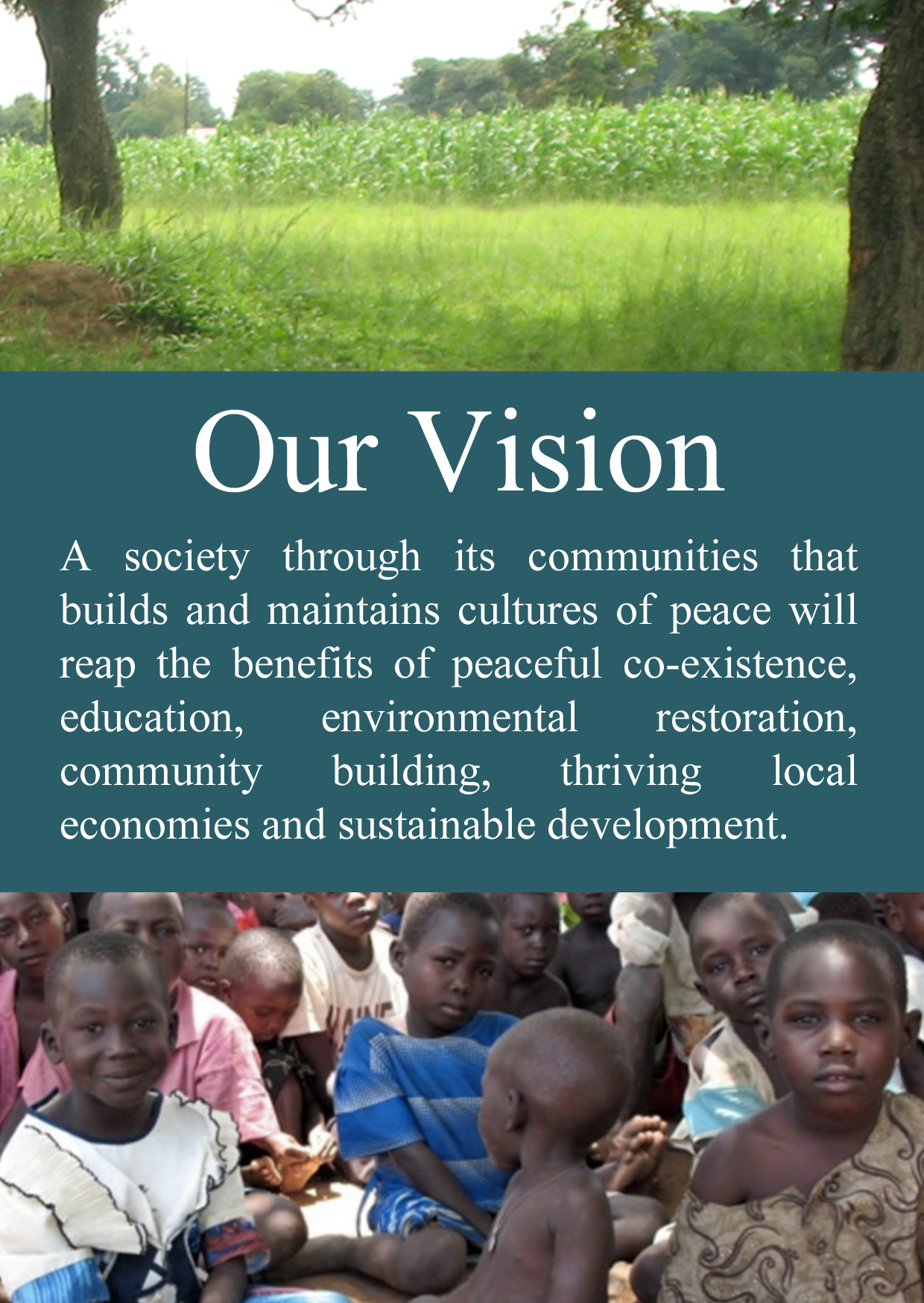 UMECS Our Vision Our Vision